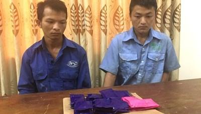 Bắt 2 thanh niên ở Nghệ An cùng 6.000 viên ma túy tổng hợp