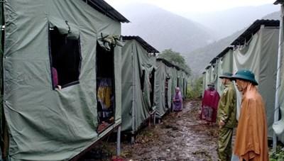 Nghệ An: Di dời hàng trăm hộ dân trước nguy cơ sạt lở