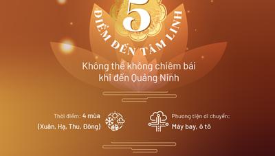 Bí kíp hay cho các tín đồ Phật tử du lịch tâm linh trên miền di sản Quảng Ninh