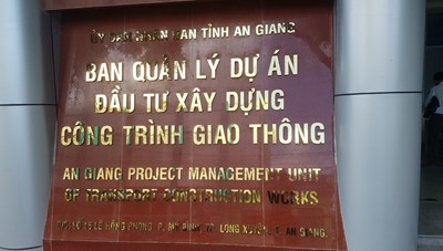 Ban QLDA đầu tư xây dựng CTGT tỉnh An Giang: Hồ sơ mời thầu vi phạm Luật đấu thầu?