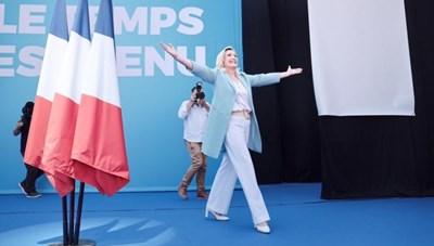 Lãnh đạo cực hữu Marine Le Pen lần thứ 3 tranh cử Tổng thống Pháp