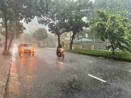Nhiều nơi tiếp tục mưa to