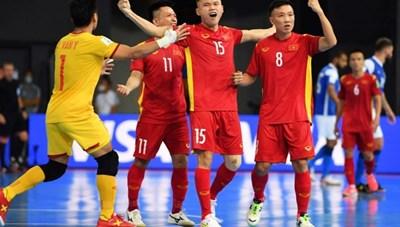 Đội tuyển futsal Việt Nam thua 1-9 trước Brazil