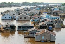 An Giang: Di dời 73 nhà nổi trên sông Hậu để phòng, chống dịch Covid-19
