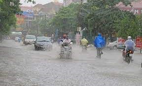 Trung Bộ có mưa to
