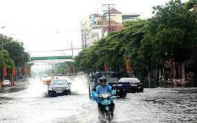 Từ nay đến cuối tuần, Bắc Bộ và Trung Bộ mưa lớn