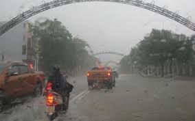 Không khí lạnh tăng cường, từ Nghệ An đến Thừa Thiên - Huế mưa lớn