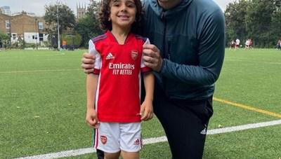 Arsenal tuyển mộ thần đồng 5 tuổi