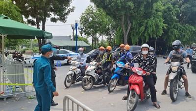 Phương tiện giao thông từ Hưng Yên về Hà Nội đồng loạt quay đầu