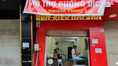 Hà Nội giãn cách: Hội bạn thân U70 'rủ nhau' nấu cơm 0 đồng hỗ trợ người khó khăn