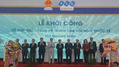 FLC khởi công Tổ hợp khách sạn và TT hội nghị quốc tế tại Quảng Bình