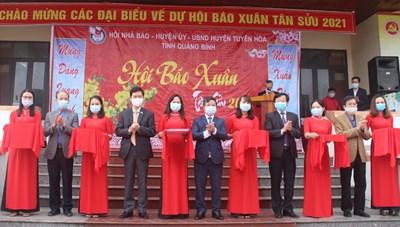 Quảng Bình: Trưng bày hơn 300 ấn phẩm tại hội báo xuân Tân Sửu