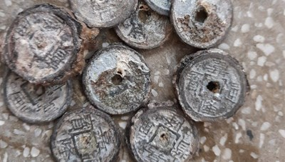 3 ngư dân trục vớt gần 8 tạ tiền xu thời Gia Long và Minh Mạng