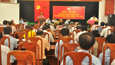 Mặt trận Quảng Bình chăm lo đời sống của người dân sau dịch Covid-19