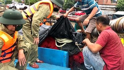 Quảng Bình: Kêu gọi hơn 7.000 tàu thuyền vào nơi an toàn trú bão Sinlaku