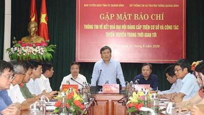 Quảng Bình: Hủy các gói thầu mua cặp đựng tài liệu phục vụ Đại hội đảng