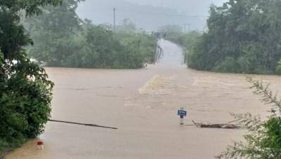 Quảng Bình: Mưa lớn khiến nhiều địa phương bị chia cắt