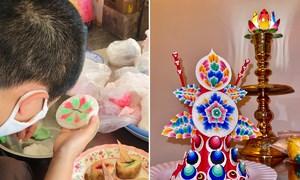 Gia đình Việt ăn Tết Bhutan