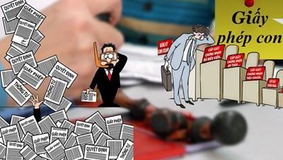 Nhiều bộ thành lập tổ công tác đặc biệt, hứa không tạo ra 'giấy phép con'
