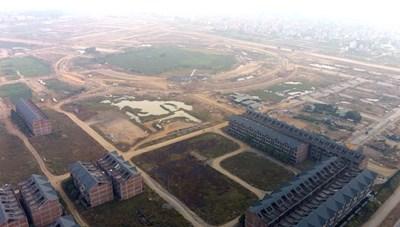 Đất nền dự án Kim Chung – Di Trạch vẫn nợ thuế, mở bán chui