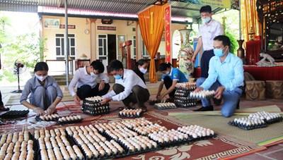 Mỗi huyện phấn đấu có từ 40-100 tấn hàng hỗ trợ TP Hồ Chí Minh chống dịch