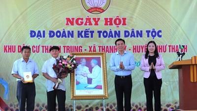 Rộn ràng Ngày hội Đại đoàn kết tại thôn Thanh Trung