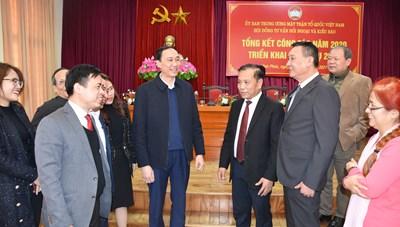 Phát huy tiềm năng của Hội đồng tư vấn Đối ngoại và Kiều bào trong tình hình mới