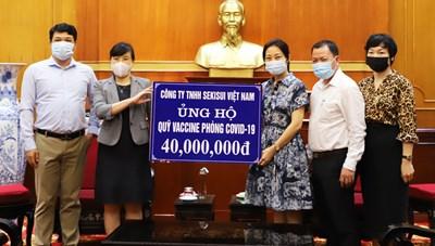 Công ty TNHH Sekisui ủng hộ Quỹ vaccine phòng chống Covid-19