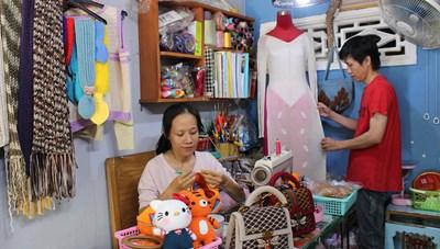 Cô gái 9X khởi nghiệp thành công từ len handmade