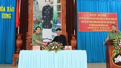 An Giang: Thực hiện mô hình '2 An' trong tín đồ Phật giáo Hòa Hảo