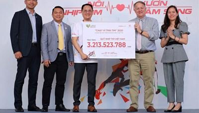 Vận động được hơn 3,2 tỷ đồng hỗ trợ các bệnh nhi nghèo phẫu thuật tim
