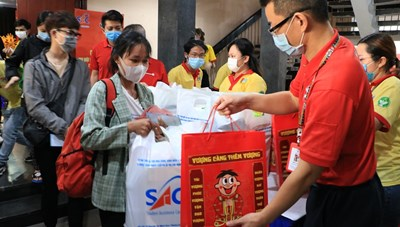 """TP.Hồ Chí Minh: Chương trình Họp mặt sinh viên đón tết xa nhà"""" cho 2.000 sinh viên"""