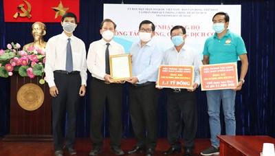 Tổng Liên Hội thánh Tin lành Việt Nam (miền Nam) ủng hộ 1,1 tỷ đồng cho Quỹ Phòng, chống dịch Covid-19