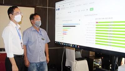 Bình Dương: Ra mắt Hệ thống Trung tâm Thông tin tác chiến phòng, chống dịch bệnh Covid-19