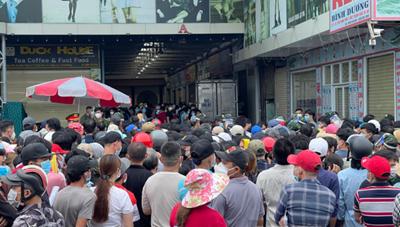 Bình Dương: Ra thông báo khẩn để chấn chỉnh việc tập trung đông người