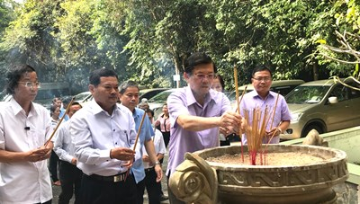 Nhiều hoạt động ý nghĩa của các đại biểu Mặt trận Cụm Đông Nam Bộ tại Tây Ninh