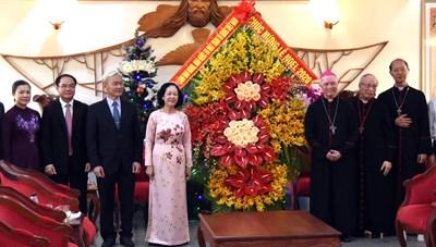 Đồng bào Công giáo có nhiều đóng góp quan trọng trong sự nghiệp xây dựng đất nước