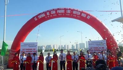 TP HCM thông xe dự án cầu hơn 400 tỷ đồng