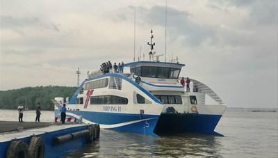 31.000 lượt hành khách sử dụng, phà biển Cần Giờ đông khách bất ngờ