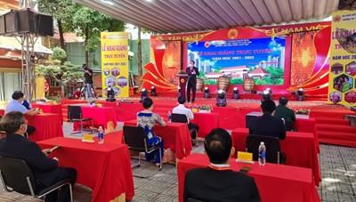 Nhiều trường trên địa bàn TP Hồ Chí Minh tổ chức lễ khai giảng