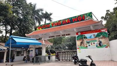 Nhà hàng 'khủng' mọc trái phép trên đất Vườn thú Hà Nội