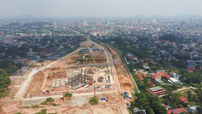 Dự án Khu dân cư số 1, đường Việt Bắc kéo dài thực hiện đấu giá đúng quy định