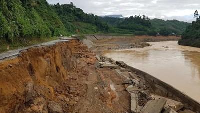 Tây Nguyên: Tăng cường khắc phục hậu quả sau bão số 9