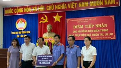 Đắk Nông: Tiếp nhận hơn 3 tỷ đồng ủng hộ đồng bào miền Trung
