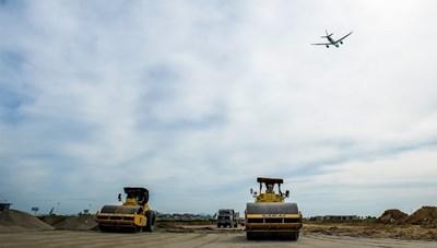 Không thể ngẫu hứng xây dựng sân bay