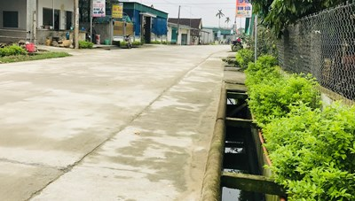 Xã nghèo đổi thay nhờ nông thôn mới
