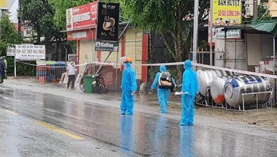 Hà Tĩnh: Thêm 4 ca nhiễm Covid-19 ở 2 huyện, thành phố