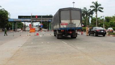 Hà Tĩnh: Lập chốt kiểm soát 2 đầu tỉnh