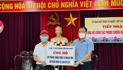 Hà Tĩnh: Gần 120 tỷ đồng ủng hộ công tác phòng chống Covid-19