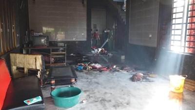 Vụ cháy nhà 4 mẹ con ở Hà Tĩnh: Cả 3 đứa con không qua khỏi
